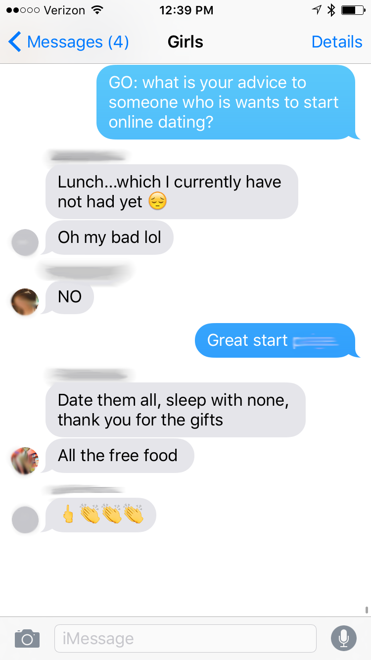 From dating to friends